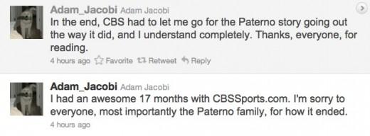 Adam Jacobi tweets